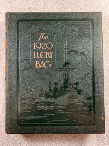 1920 The Lucky Bag Yearbook United States Naval Academy US Navy Genealogy Annual