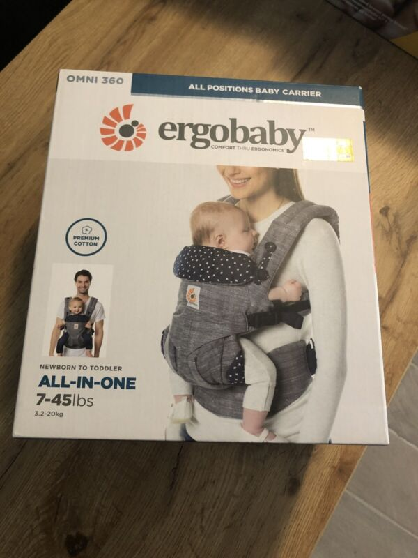 Ergobaby Omni 360 All-In-One Baby Carrier Newborn - Toddler Jacks NEW