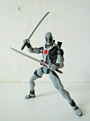 "Marvel Universe X-Men X-Force 3.75"" Inch Grey Deadpool Action Figure"