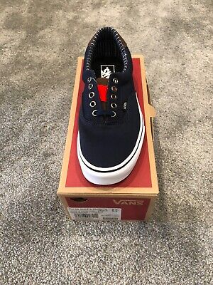 Mens Vans Era 59 (cord&plaid) Blue Uk 7