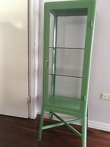 Retro/industrial style IKEA glass display cabinet Stafford Brisbane North West Preview