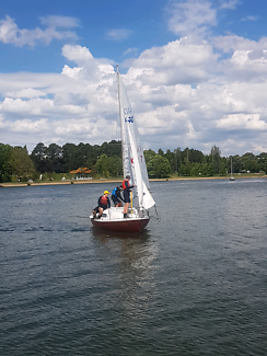 Reduced, Red Witch 20ft Yacht ready to Sail