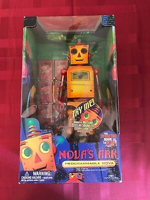 1999 Trendmasters Novas Ark Programmable Nova Robot Mint In Box