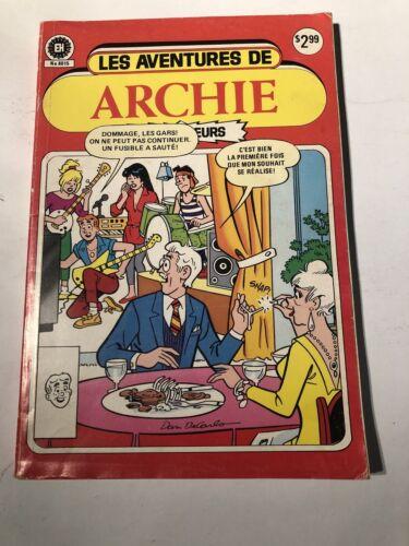 Les Aventures De Archie # 8015 Edition Heritage