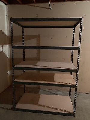 Boltless Warehouse Shelves Adjustable 3-5 Levels Storage Organizer Racks