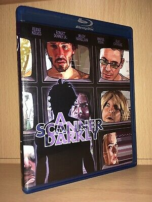 A Scanner Darkly Blu-ray - Robert Downey Jr. Keanu Reeves Richard Linklater film