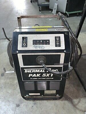 Thermal Arc Pak 5xr Plasma Cutting Control