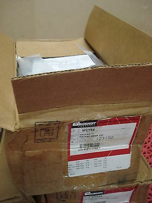 Lot Of 10 Burndy Wcy64 Wejtap Connector 123192 New