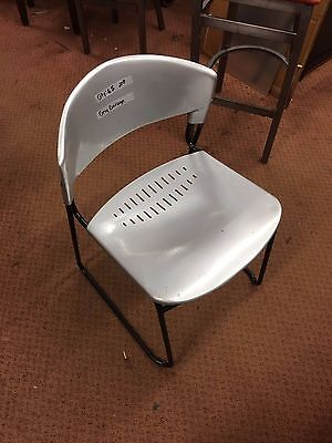 Nice Used Chairs Silver With Back Metal Restaurant Stacking Chairs