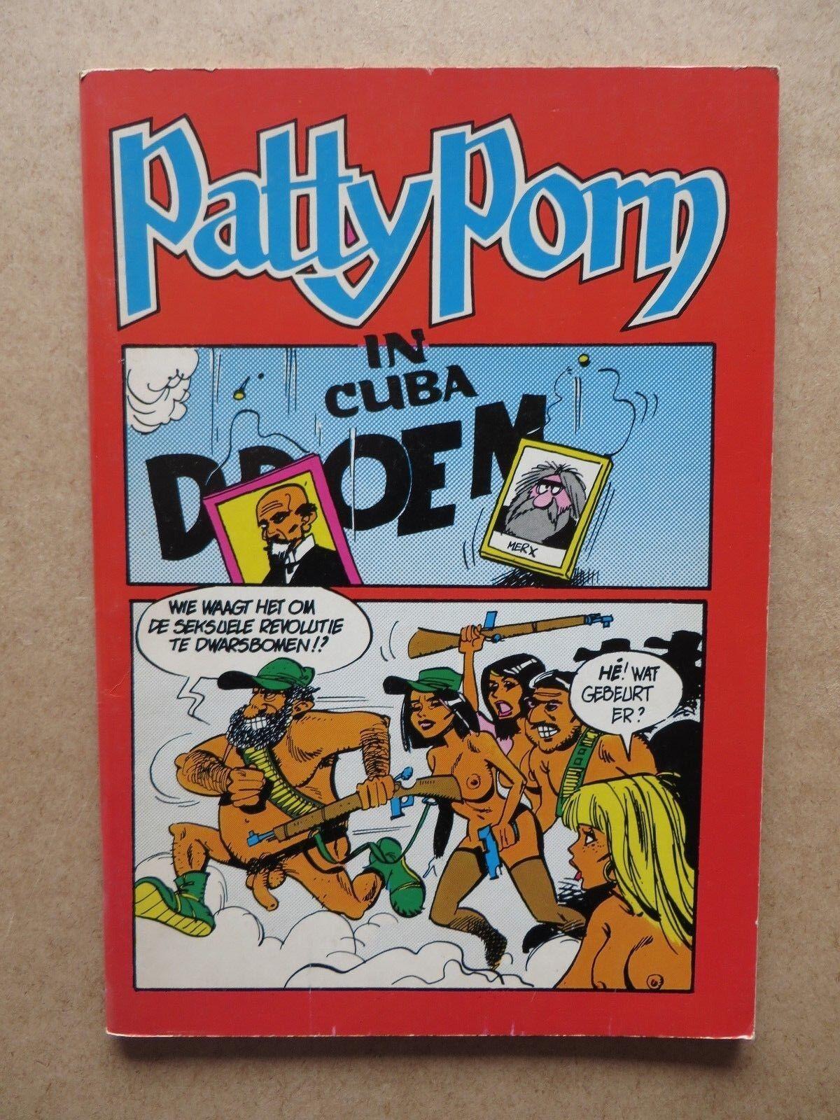 Patty Porn in Cuba - 1ste druk 1983 - zeer mooi - EROTIEK !!!