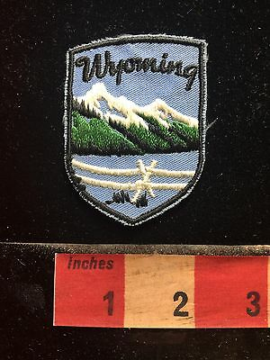 Wyoming Patch Beautiful Snowcapped Mountain 73B4