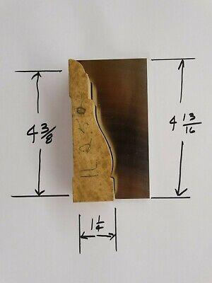 Shaper Moulder Custom Corrugated Back Cb Knives For 4 38 Casing