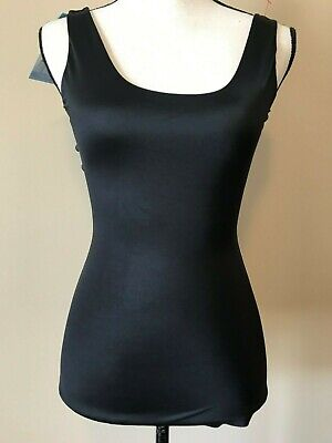 Spanx Assets Red Hot Label Womens Tank Top Size M Flipside Firmers Black Tan NWT Red Black Womens Tank Top