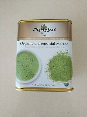 Mighty Leaf Organic Matcha Green Tea 1.5 oz tin  - best buy Jan (Best Matcha Powders)