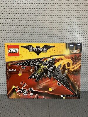 LEGO  Batman Movie The Batwing 2017 (70916)+ Clayface (70940) 100% Complete