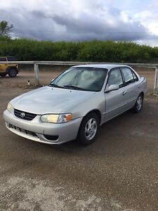 2001 Toyota Corolla LE (MUST SELL A$AP)