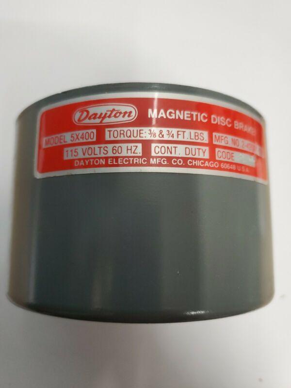 Dayton 5x400 Nominal Static Torque Brake