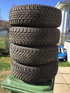 p195/65/15 inch Goodyear Winter Tires/ GOOD TREAD / GOOD DEAL