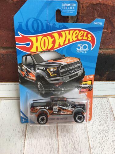 Hot Wheels 2017 Ford F150 Raptor Black - $0.99