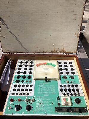 Vintage Mercury Model 203 Tube Tester Complete