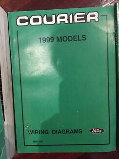 Ford courier 2002 work books