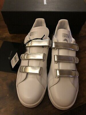 Vintage Adidas Stan Smith x Raf Simons Triple Strap Sneakers Size 11.5 $452.00