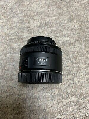 canon ef 50mm f/1.8 stm lens Used