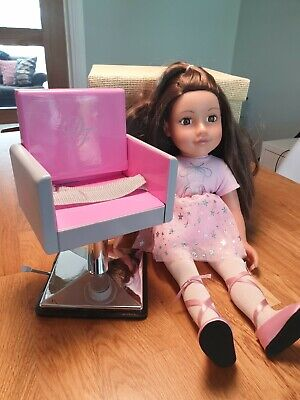 """Design a Friend 18"""" doll with chair"""