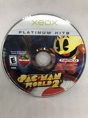 Pac-Man World 2 (Microsoft Xbox, 2002) Disc Only