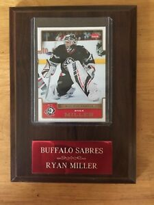 Ryan Miller Plaque - Hockey - Buffalo Sabres