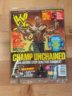 John Cena WWE Wrestling Magazine Poster Original Magazine 16x21 New
