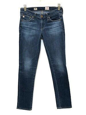 Stilt Cigarette Leg (AG Adriano Goldschmied Stilt Cigarette Leg Jeans Size 25 R Blue #544)