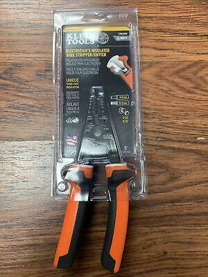 Klein Tools Electricians Insulated Wire Strippercutter 11054eins