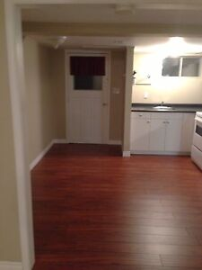 One Bedroom Basement Apartment - NO PARKING AVAILABLE