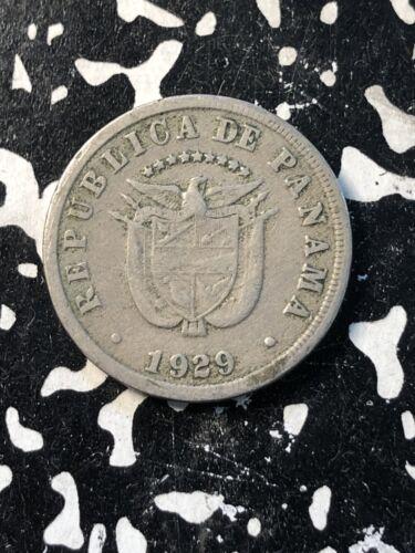 1929 Panama 5 Centesimos (18 Available) Circulated (1 Coin Only)
