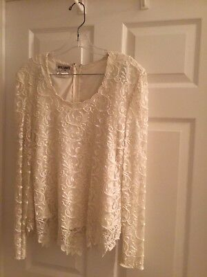 Women's Pearled and sequin blouse