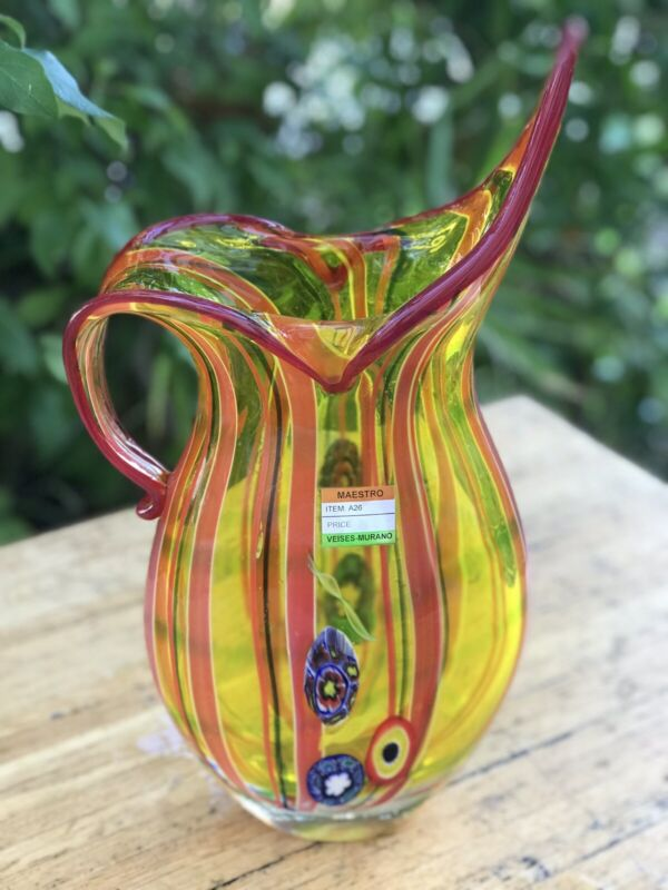 Hand Blown Murano Glass with Certificate A26