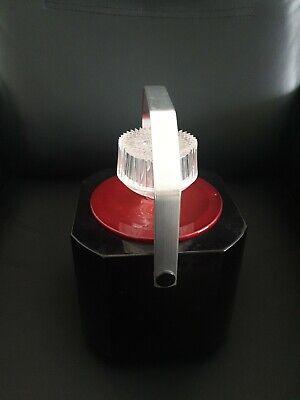 Ice Bucket Sparklets/BOC 1960s/70s Vintage Black/Red VGC