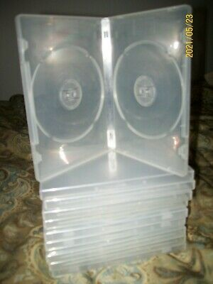 Dvd Double Clear Cases New And Used 10 Total