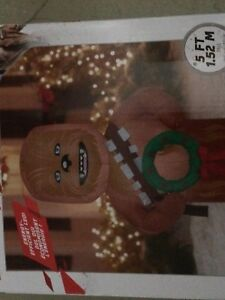 Chewbacca 5 foot inflatable new