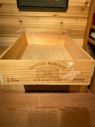 2000 Margaux wine box OWC
