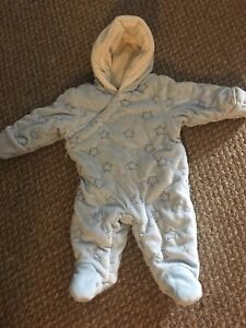 Snowsuit for 3-6 month old baby boy