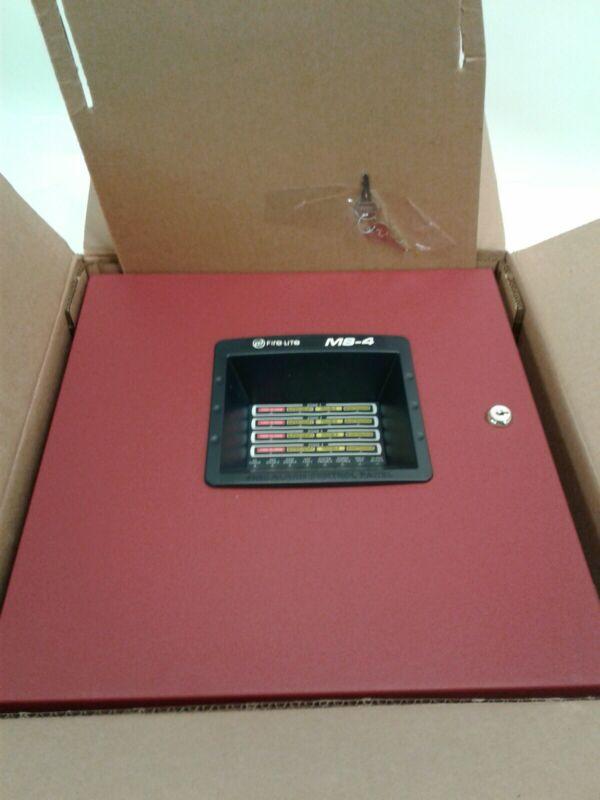 Fire-Lite 4-Zone Fire Alarm Control Panel MS-4