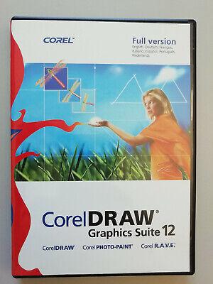 CorelDRAW Graphics Suite 12 Vollversion - inkl PHOTO-PAINT