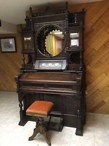 Story and Clarke reed pump organ