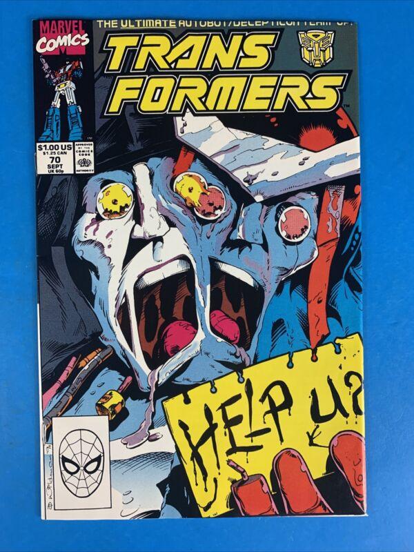 Transformers #70 NM (Origin of Cybertron & the Transformers) 🔥🔥🔥