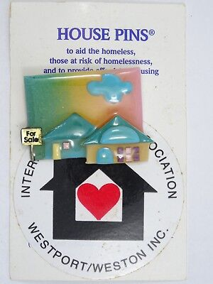 HOUSE PINS by LUCINDA FOR SALE HOUSE BROOCH ** NEW **](Pins For Sale)