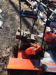 For snowblowers for sale