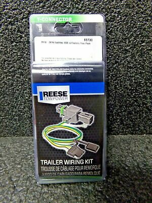 REESE 85730 2010-16 CADILLAC SRX TRAILER CONNECTOR W/FACTORY TOW PACK (HH), used for sale  Springfield