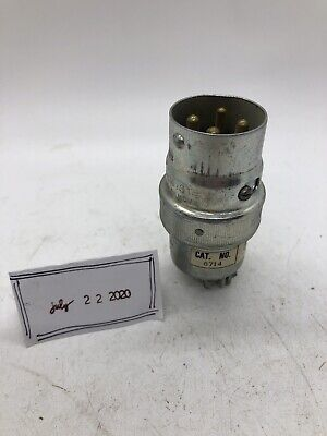 Russellstoll Russell Stoll 8714 Ever-lok 250v 20a Electrical Connector Plug